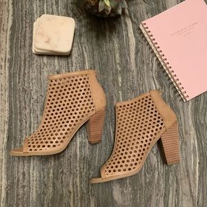Shoes - Open Toed Booties